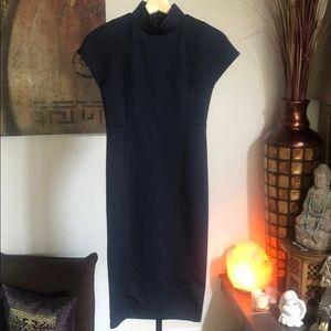 Zara Navy Pencil dress